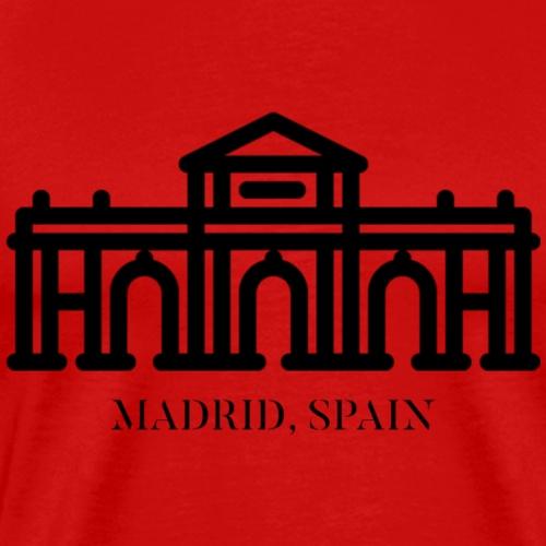 ALCALA GATE MADRID SPAIN - BLACK - T-shirt Premium Homme