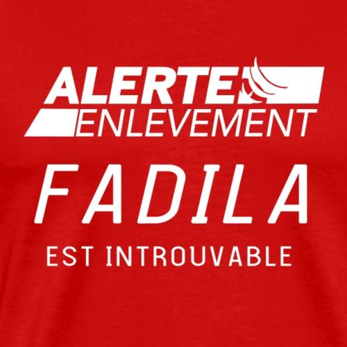 ALERTE ENLEVEMENT - T-shirt Premium Homme