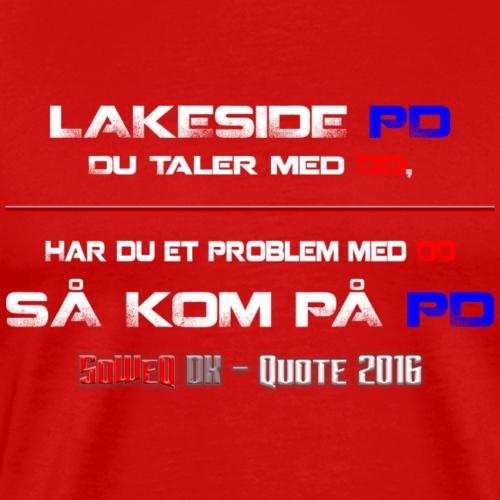 DD på PD Kollektion 2016 - Herre premium T-shirt