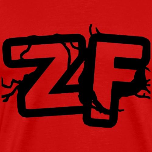 Zckrfrk BLACK Edition - Männer Premium T-Shirt