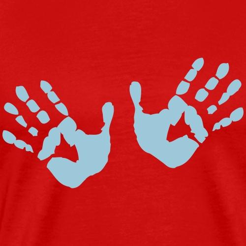 Hands - Hände - Männer Premium T-Shirt