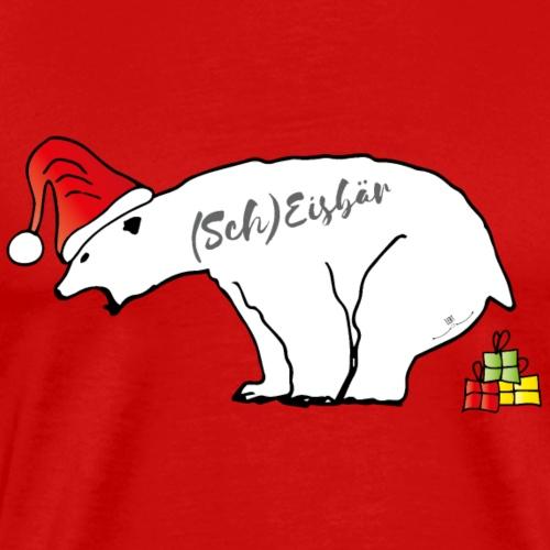 (Sch) Eisbär - Männer Premium T-Shirt