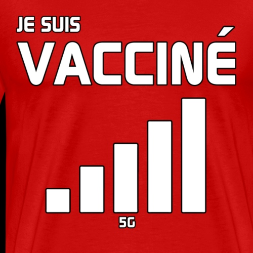 Je suis vacciné - T-shirt Premium Homme