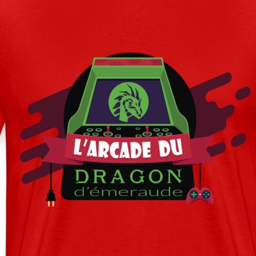 L'arcade du Dragon d'émeraude - T-shirt Premium Homme