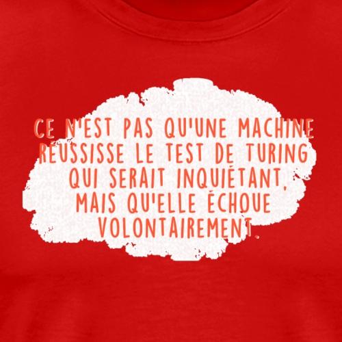 Test de turing - T-shirt Premium Homme