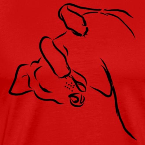 De relax stand - Mannen Premium T-shirt