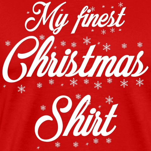 Christmasshirt - Männer Premium T-Shirt