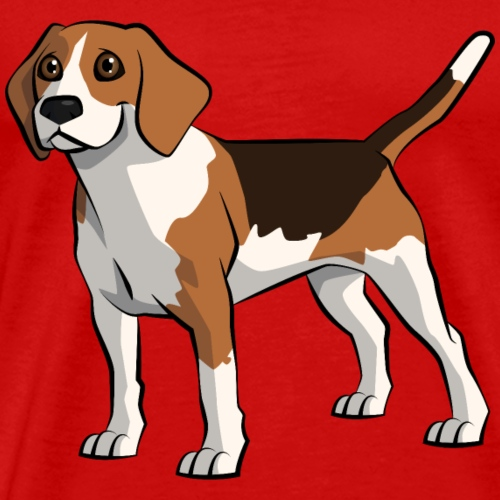 Watch-out Beagles About - Men's Premium T-Shirt
