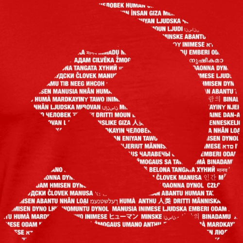 Human Sickle and hammers - Men's Premium T-Shirt