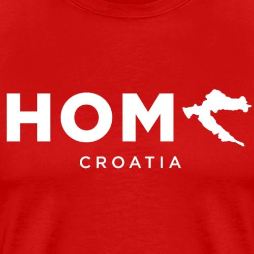 Croatia Home Hrvatska Domovina Mi Hrvati Za dom - Männer Premium T-Shirt