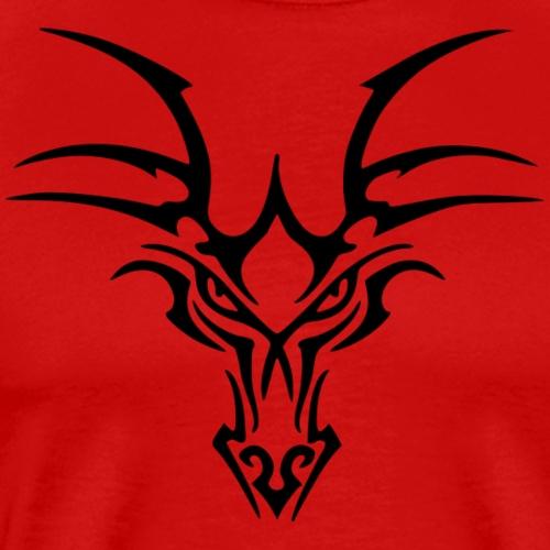 Drache Gesicht - Männer Premium T-Shirt