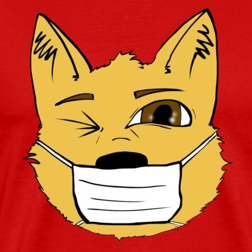 Masked dog - T-shirt Premium Homme