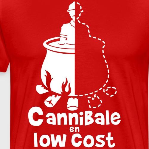 Cannibale en Low Cost - T-shirt Premium Homme