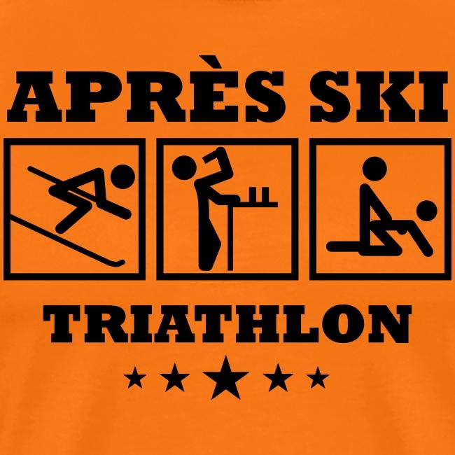 Apres Ski Triathlon   Apreski-Shirts gestalten