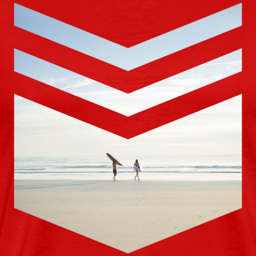 Surfing Beach - Männer Premium T-Shirt