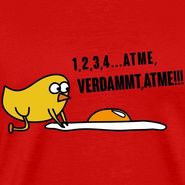 Lustige Sprüche und Comic T-Shirts | Erste Hilfe! Ei