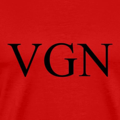 vegan vgn - Männer Premium T-Shirt