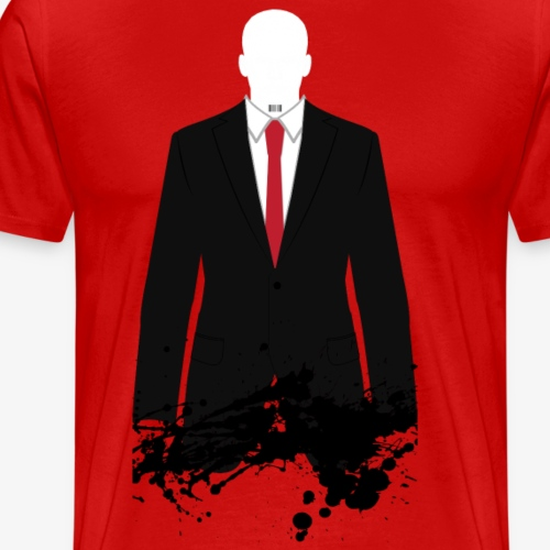 The Hitman - Black Stain - Men's Premium T-Shirt