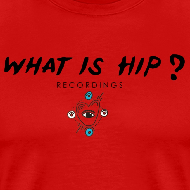 What Is Hip? logo Basic with 'All seeing eye'