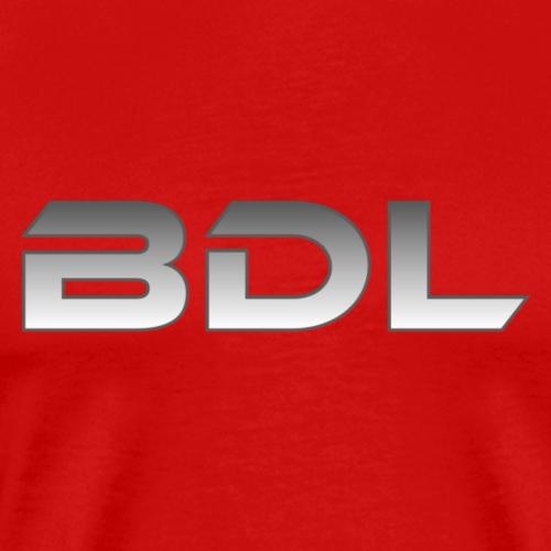 BDL lyhenne - Miesten premium t-paita