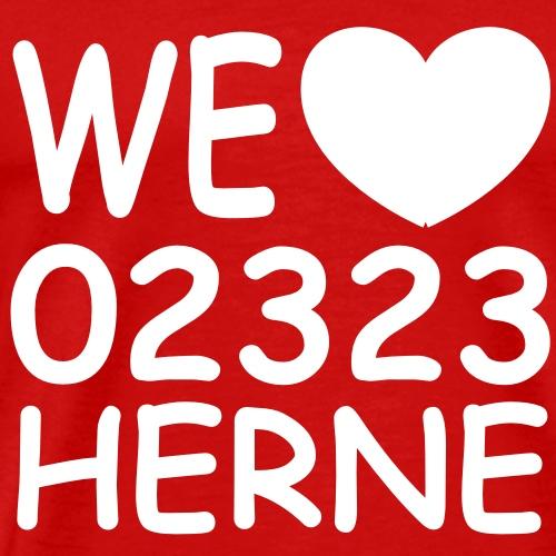 We love 02323 Herne - Männer Premium T-Shirt