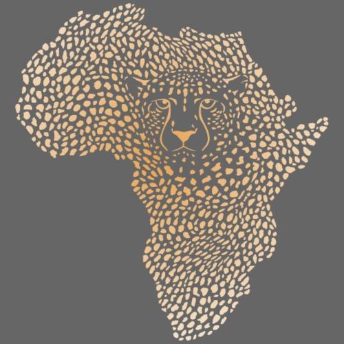 Symbol Afrika in der Gepardtarnung - Männer Premium T-Shirt