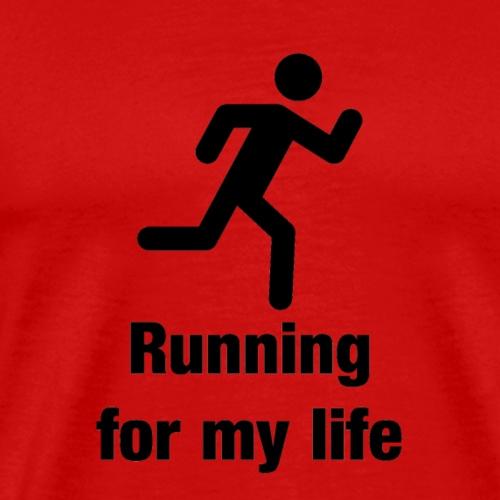 Jogger - Dauerläufer - Männer Premium T-Shirt