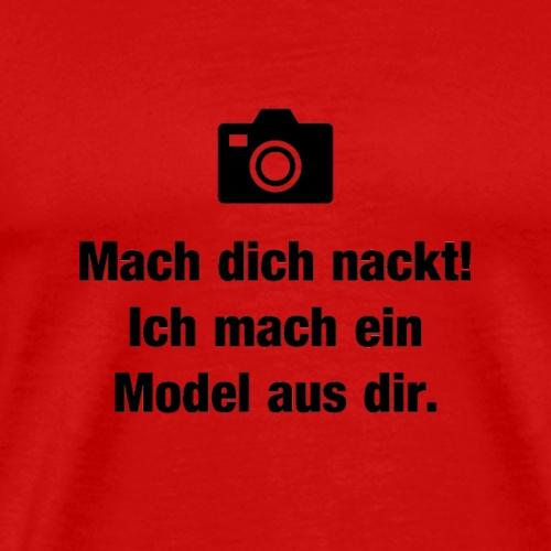 Akt Fotografie - Männer Premium T-Shirt