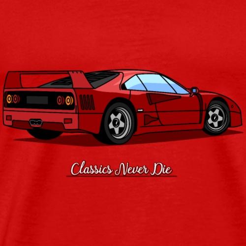 Classics Never Die - Men's Premium T-Shirt