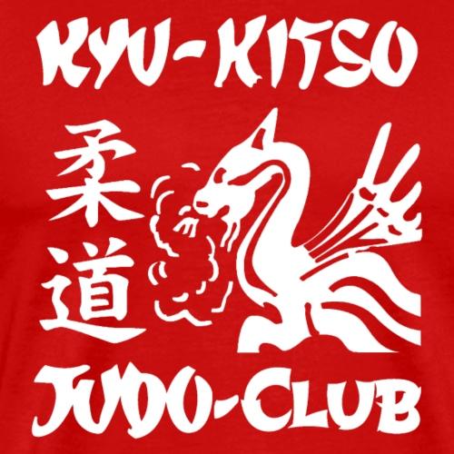 Kyu Kitso Logo White - Men's Premium T-Shirt