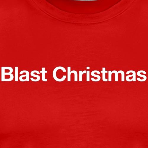 Blast Christmas - Männer Premium T-Shirt