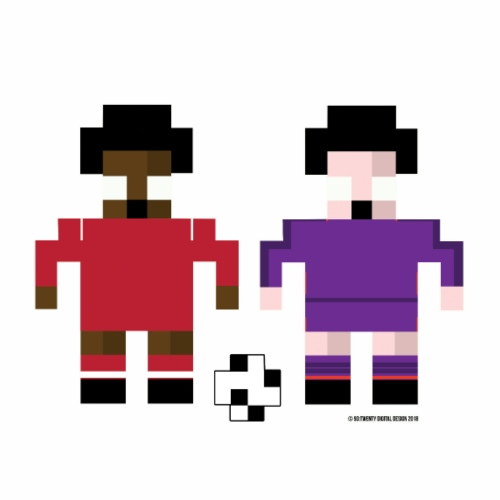8 Bit Series - Liverpool - Men's Premium T-Shirt