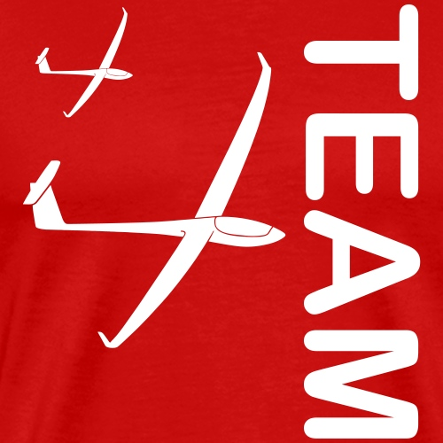 Team gleiten Segelflieger Segelflugzeug Geschenk - Männer Premium T-Shirt