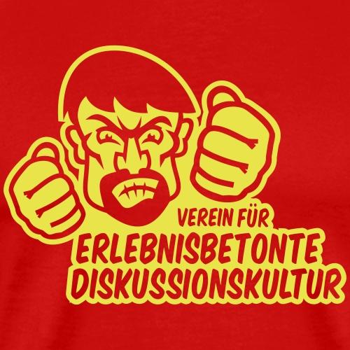Diskussionskultur - Männer Premium T-Shirt