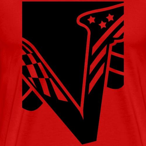 Velocity - V - Männer Premium T-Shirt