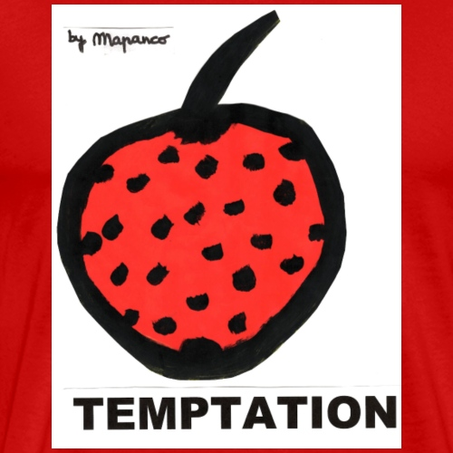 TEMPTATION strawberry - Camiseta premium hombre