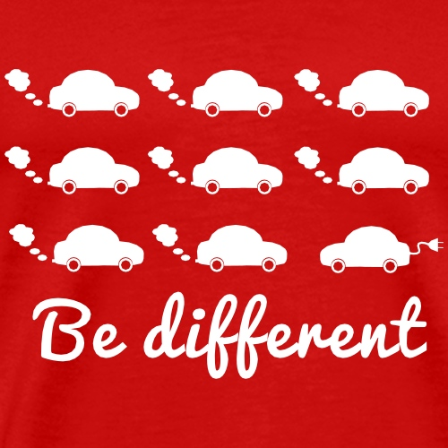 Be different - Männer Premium T-Shirt