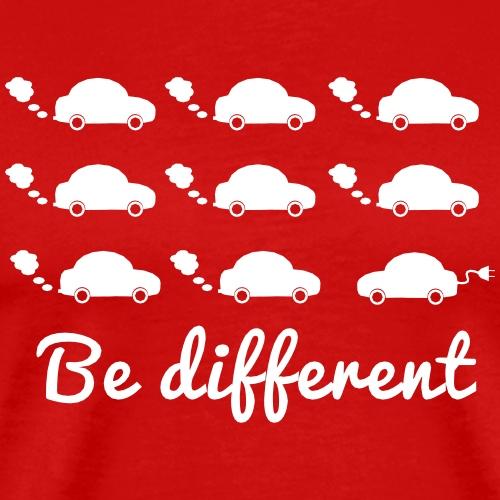 Be different - Männer Premium T-Shirt