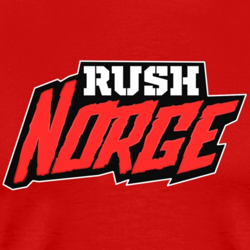 RushNorge 2016 - Premium T-skjorte for menn
