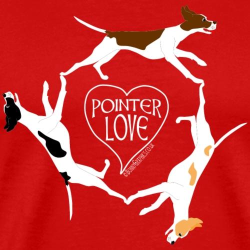 Three pointers heart 1 - Men's Premium T-Shirt
