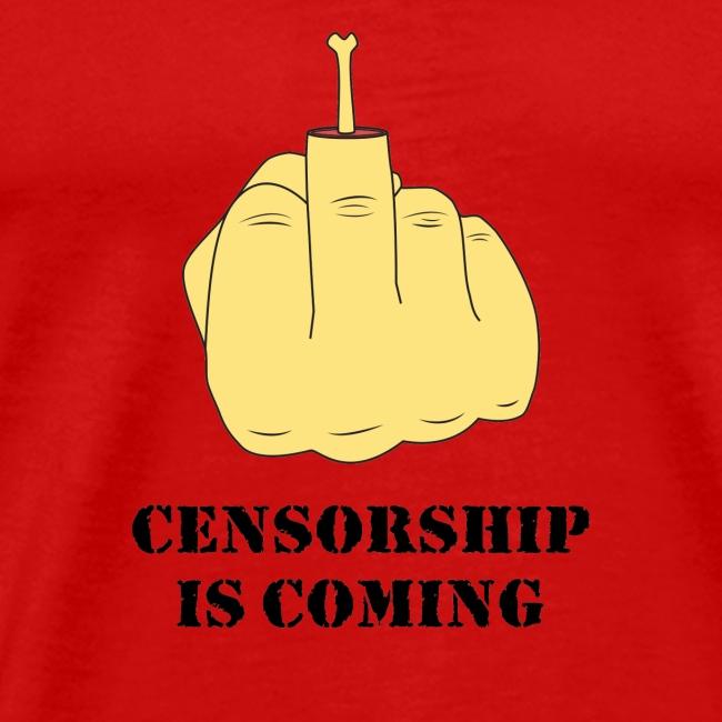 La censure arrive