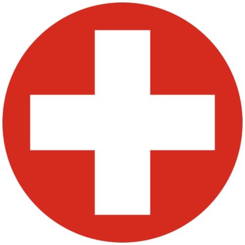 Schweiz Rund - Männer Premium T-Shirt