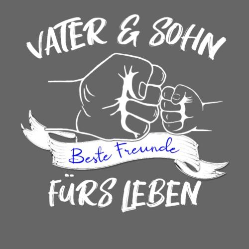 Vater und Sohn beste Freunde fürs Leben - Männer Premium T-Shirt