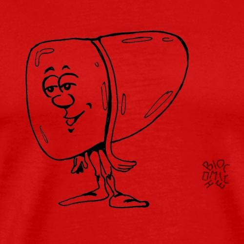 Fegato - Maglietta Premium da uomo