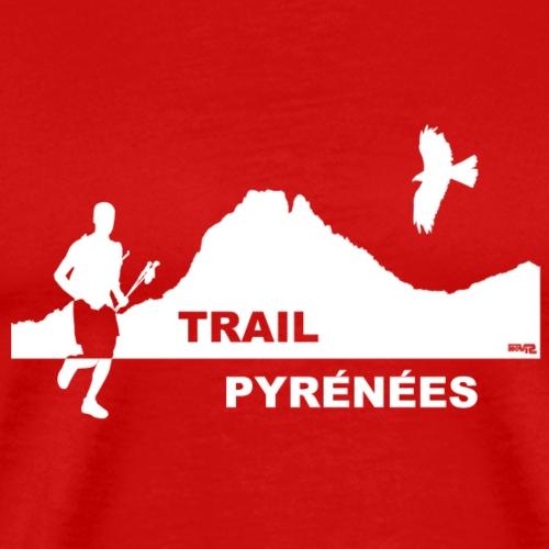 Trail Pyrénées sans Manches F1 - T-shirt Premium Homme
