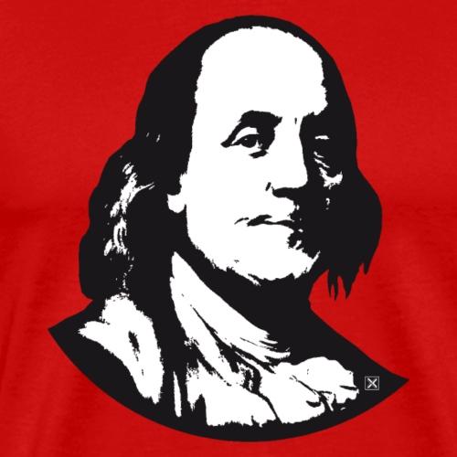 Benjamin Franklin - Camiseta premium hombre