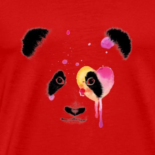 Lovestruck Panda - Men's Premium T-Shirt