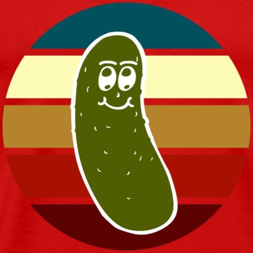 Vintage Colored Pickle #2 - Maglietta Premium da uomo