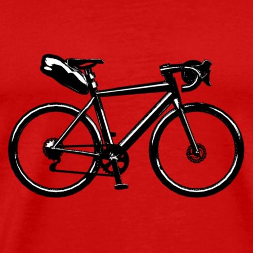 road bike disc - T-shirt Premium Homme