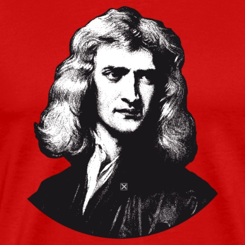 Isaac Newton - Men's Premium T-Shirt